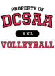 DCSAA Fan Favorite Ladies Cotton V-Neck T-shirt