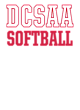 DCSAA Electric Heather Hooded Sweatshirt