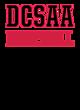 DCSAA New Era Ladies Tri-Blend Pullover Hooded T-Shirt