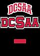 DCSAA New Era Ladies Tri-Blend Hooded Sweatshirt