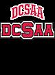 DCSAA Ladies Sport-Wick Heather Fleece Hooded Pullover
