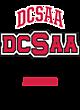 DCSAA New Era Ladies Tri-Blend Scoop Tee
