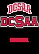 DCSAA Tri-Blend Wicking Short Sleeve Hoodie