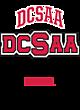 DCSAA Youth Tri-Blend Long Sleeve Hooded T-shirt