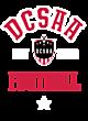 DCSAA Lightweight Hooded Unisex Sweatshirt