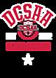 DCSAA Womens Lightweight Fleece Raglan Hoodie