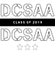 DCSAA Tri-Blend Performance Wicking T-Shirt