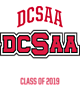 DCSAA Ladies Tri-Blend Wicking Fleece Crop Hoodie