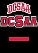 DCSAA Tri-Blend Ladies Long Sleeve Hooded T-shirt