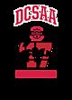 DCSAA Ladies' Posi-UV Pro Scoop Neck Tee