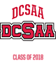 DCSAA Vintage Heather Hooded Unisex Sweatshirt