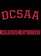 DCSAA New Era Ladies Tri-Blend 3/4-Sleeve Tee