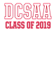 DCSAA Embroidered Homecoming Headband