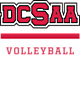 DCSAA Embroidered Pocket Cinch Pack