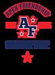 Apex Friendship Adult Baseball T-Shirt