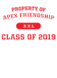 Apex Friendship Nike Core Cotton Long Sleeve T-Shirt