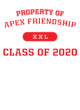 Apex Friendship Pigment Dyed Crewneck Unisex Sweatshirt