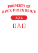 Apex Friendship Ladies Tri Blend Racerback Tank