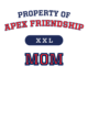 Apex Friendship Adult Competitor T-shirt