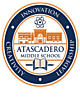 Atascadero Middle School Embroidered Nylon Team Jacket