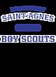 Saint Agnes Vintage Heather Hooded Unisex Sweatshirt