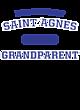 Saint Agnes Adult Tri-Blend T-Shirt