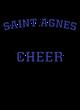 Saint Agnes Womens Sleeveless Competitor T-shirt