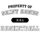 Saint Agnes Mens Heather Blend T-shirt