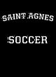 Saint Agnes Mens Heather Blend T-shirt
