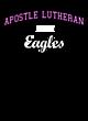 Apostle Lutheran Fan Favorite Heavyweight Hooded Unisex Sweatshirt