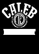 Caleb New Era Ladies Tri-Blend Performance Baseball Tee