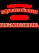 Blessed Trinity Youth Heavyweight Sleeve Stripe Hooded Sweatshirt