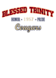Blessed Trinity Reverse Ombre T-Shirt
