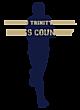 Blessed Trinity Long Sleeve Tri-Blend Wicking Raglan Tee