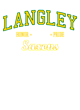 Langley Fan Favorite Heavyweight Hooded Unisex Sweatshirt