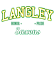 Langley Womens Ultimate Performance V-Neck T-shirt