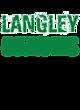 Langley Womens Holloway Heather Electrify V-Neck Shirt