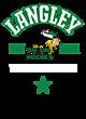 Langley Womens V-Neck Competitor T-shirt