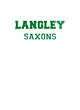 Langley Womens Holloway Electrify V-Neck Long Sleeve