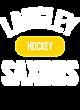 Langley Ladies Sport-Wick Heather Fleece Hooded Pullover