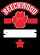 Beechwood New Era Ladies Tri-Blend Fleece Varsity Crew