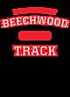 Beechwood Vintage Flame Tri-Blend Hooded T-Shirt
