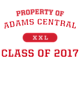 Adams Central Nike Legend Tee
