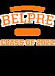 Belpre New Era Ladies Heritage Blend Varsity Hoodie