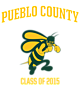 Pueblo County Youth Heavyweight Sleeve Stripe Hooded Sweatshirt