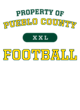 Pueblo County Youth Hyperform Compression Short Sleeve Shirt