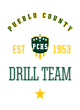 Pueblo County Ladies Game Long Sleeve V-Neck Tee