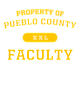 Pueblo County New Era Ladies Tri-Blend Pullover Hooded T-Shirt