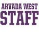Arvada West Sport Tek Sleeveless Competitor T-shirt