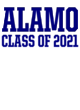 Alamo Vintage Flame Tri-Blend Hooded T-Shirt